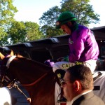 Chrome minutes before failed Triple Crown attempt